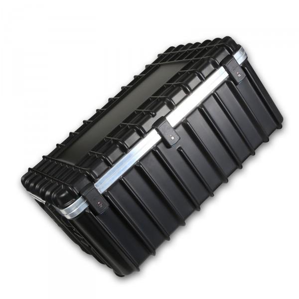 bwh Koffer T-Box Transportkoffer 114 cm 2 Rollen schwarz auf Rollen