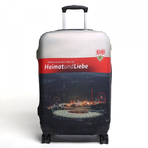 VFB Stuttgart Kofferschutzhülle Frontansicht