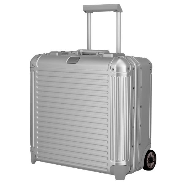 travelite Next Businesswheeler 45 cm 2 Rollen silber