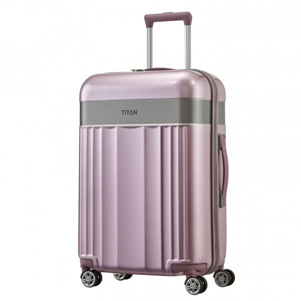TITAN Spotlight Flash Trolley 67 cm 4 Rollen wild rose Schrägansicht