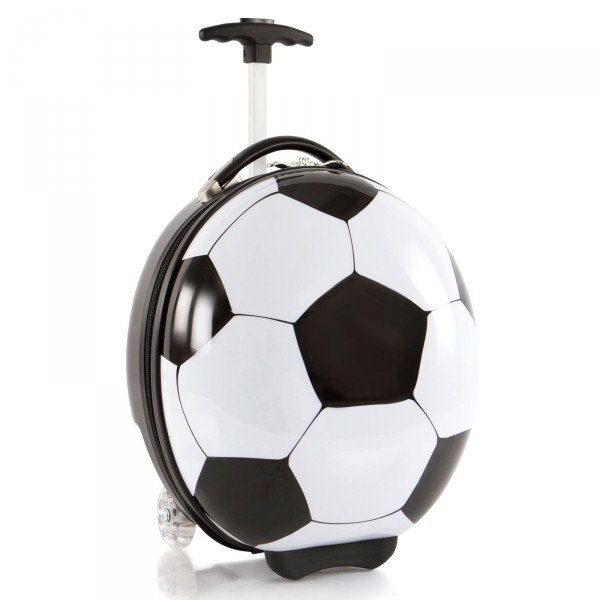 Heys Kids Sports Kindertolley 41 cm 2 Rollen Soccer Ball Schrägansicht