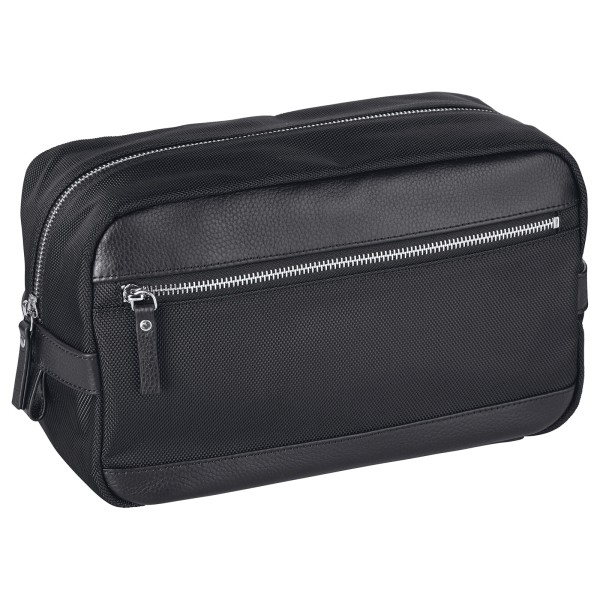 d&n Bags & More Kulturtasche 28 cm schwarz