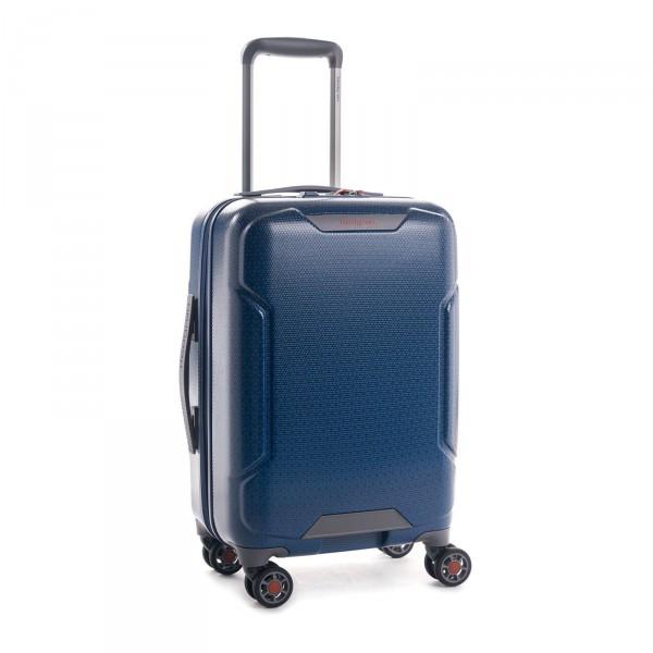 Hedgren Freestyle Kabinentrolley 55 cm 4 Rollen blue opal Schrägansicht