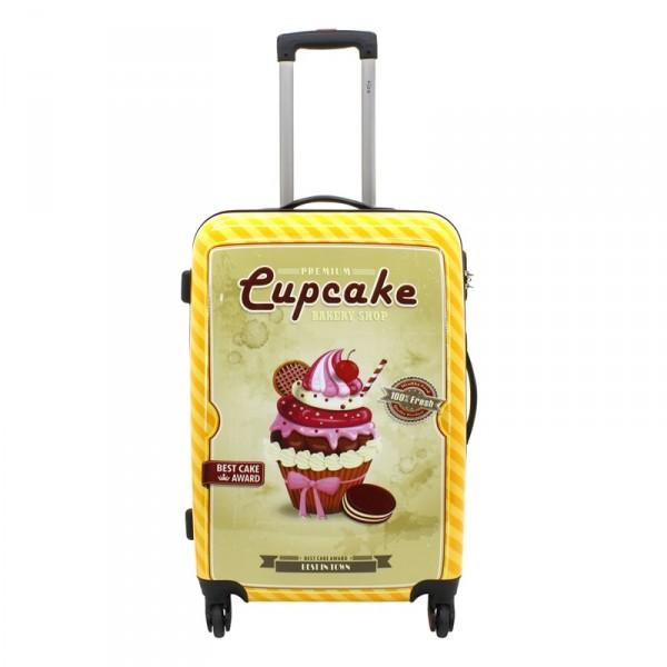 F23 Voyage Cupcake Trolley 66 cm 4 Rollen Cupcake