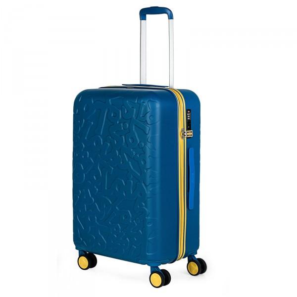 Lois Zion Trolley 66 cm 4 Rollen blue