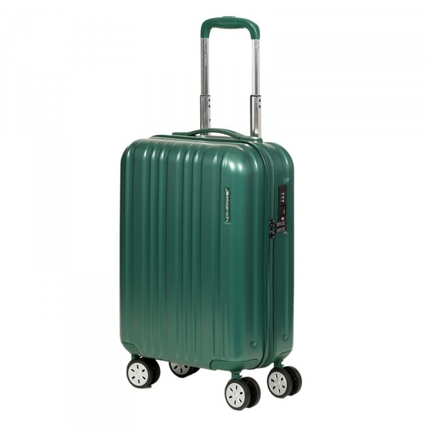 March15 Omega Trolley 55 cm 4 Rollen racing green Frontansicht