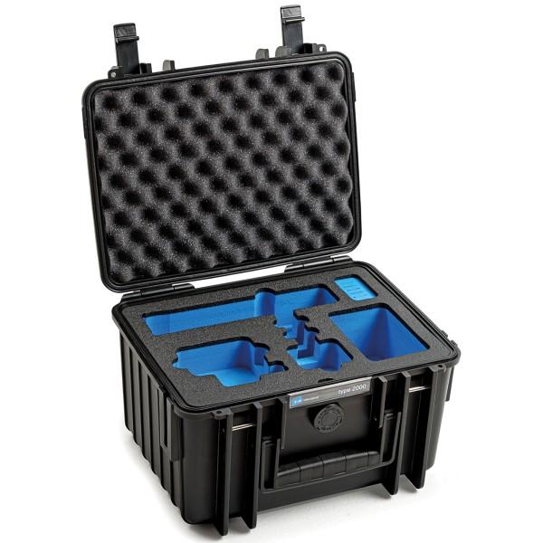 B&W GoPro Case Typ 2000 für GoPro Hero 9 mit Schaumstoffeinsatz