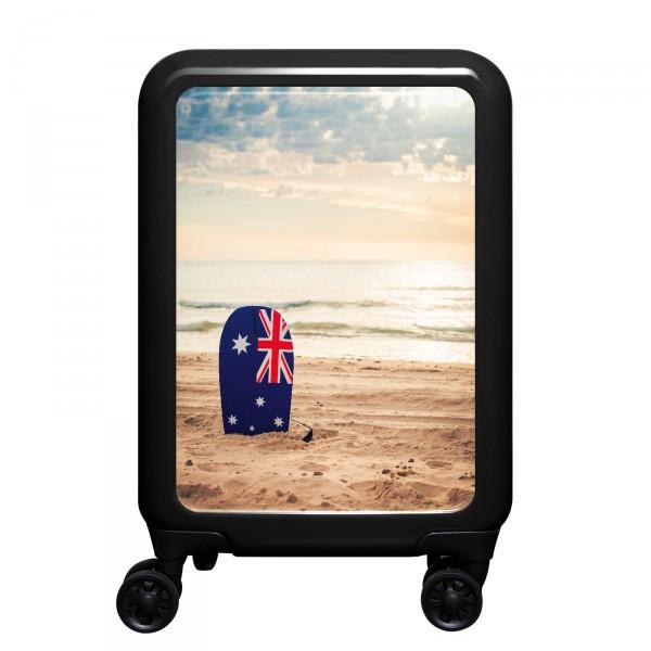 meinTrolley Australian Beach 55cm 4 Rollen schwarz