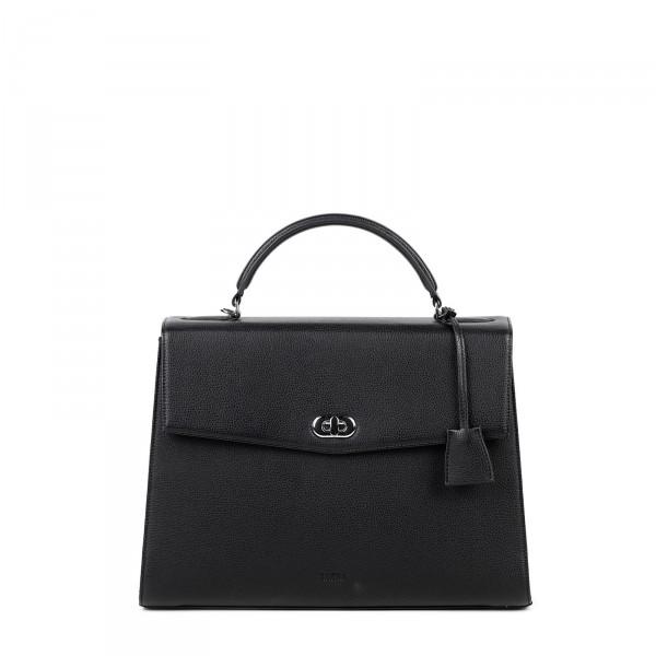 SOCHA Business-Handtasche Audrey 40 cm black Frontansicht