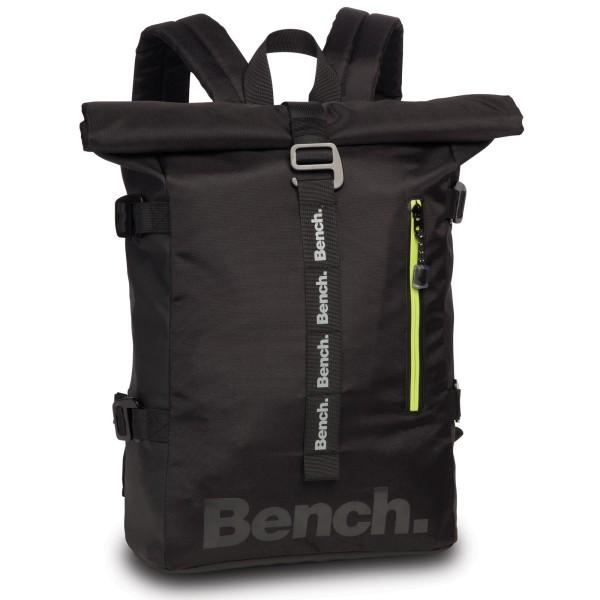 Bench Adventure Roll-Top Rucksack 41 cm schwarz
