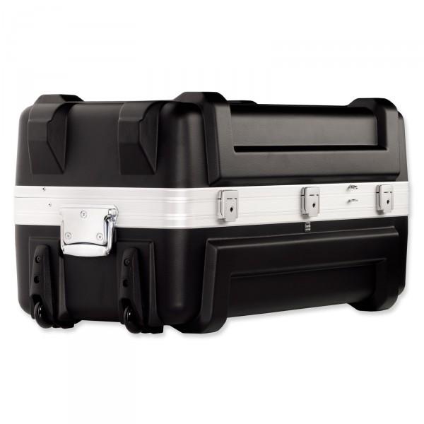 bwh Koffer Mobil-Container Transportbox schwarz 80 cm 2 Rollen - Vorderansicht