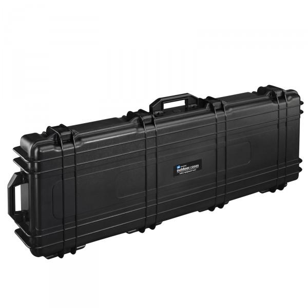 B&W Outdoor Case Typ 72 schwarz - Vorderansicht