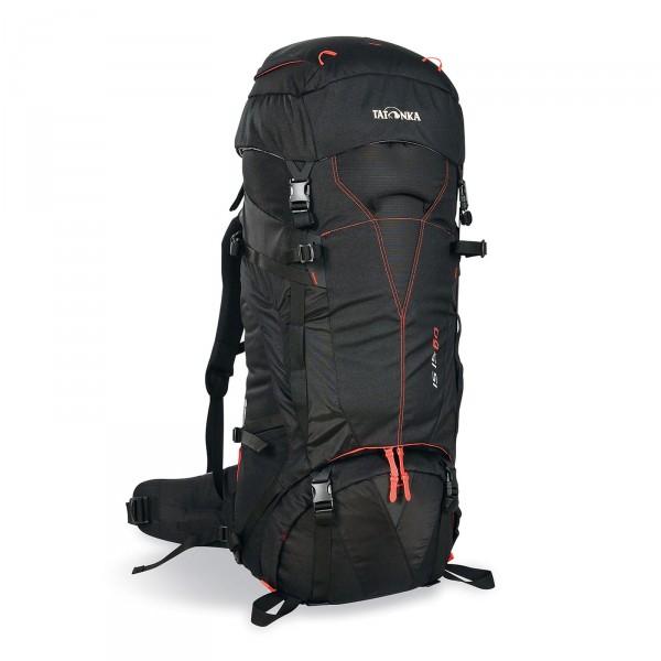 Tatonka Isis 60 Trekking-Rucksack 78 cm schwarz Frontansicht