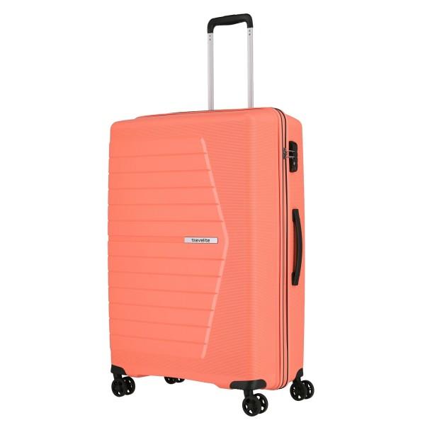 travelite Nubis Trolley 76 cm 4 Rollen koralle