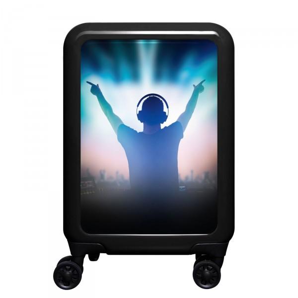 meinTrolley Music DJ 55cm 4 Rollen schwarz