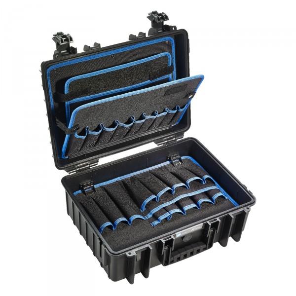 B&W JET 5000 Werkzeugkoffer POCKETS - Innenansicht leer
