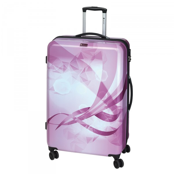 CHECK.IN Atlantis Trolley 77 cm 4 Rollen beere Frontansicht