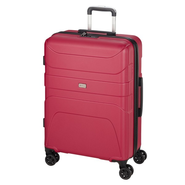 d&n Travel Line 2100 Trolley 77 cm 4 Rollen pink