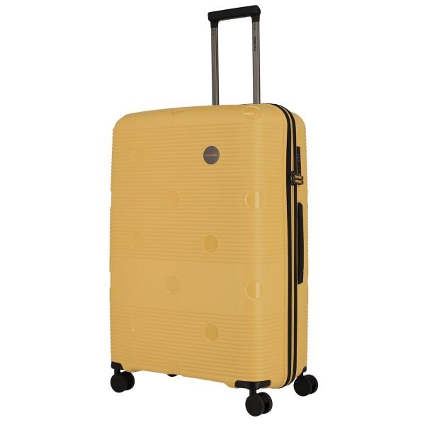 travelite Smarty Trolley 77 cm 4 Rollen gelb