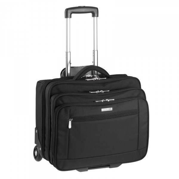 d&n Business & Travel Business-Trolley 43 cm 2 Rollen schwarz