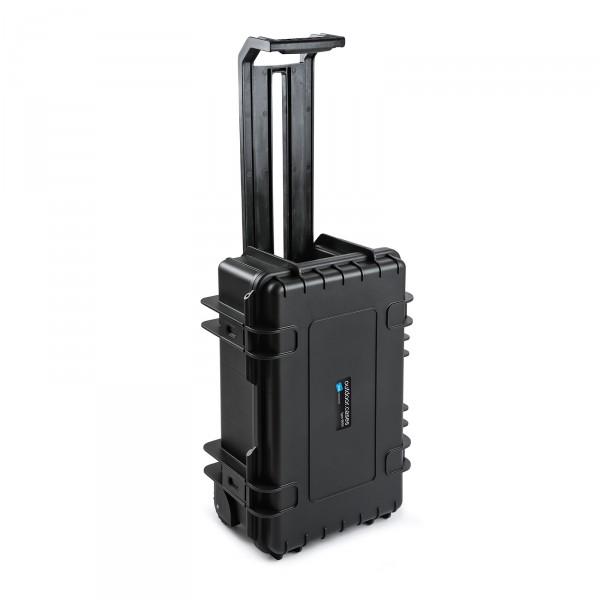 B&W Outdoor Case Typ 6600 2 Rollen black Trolley