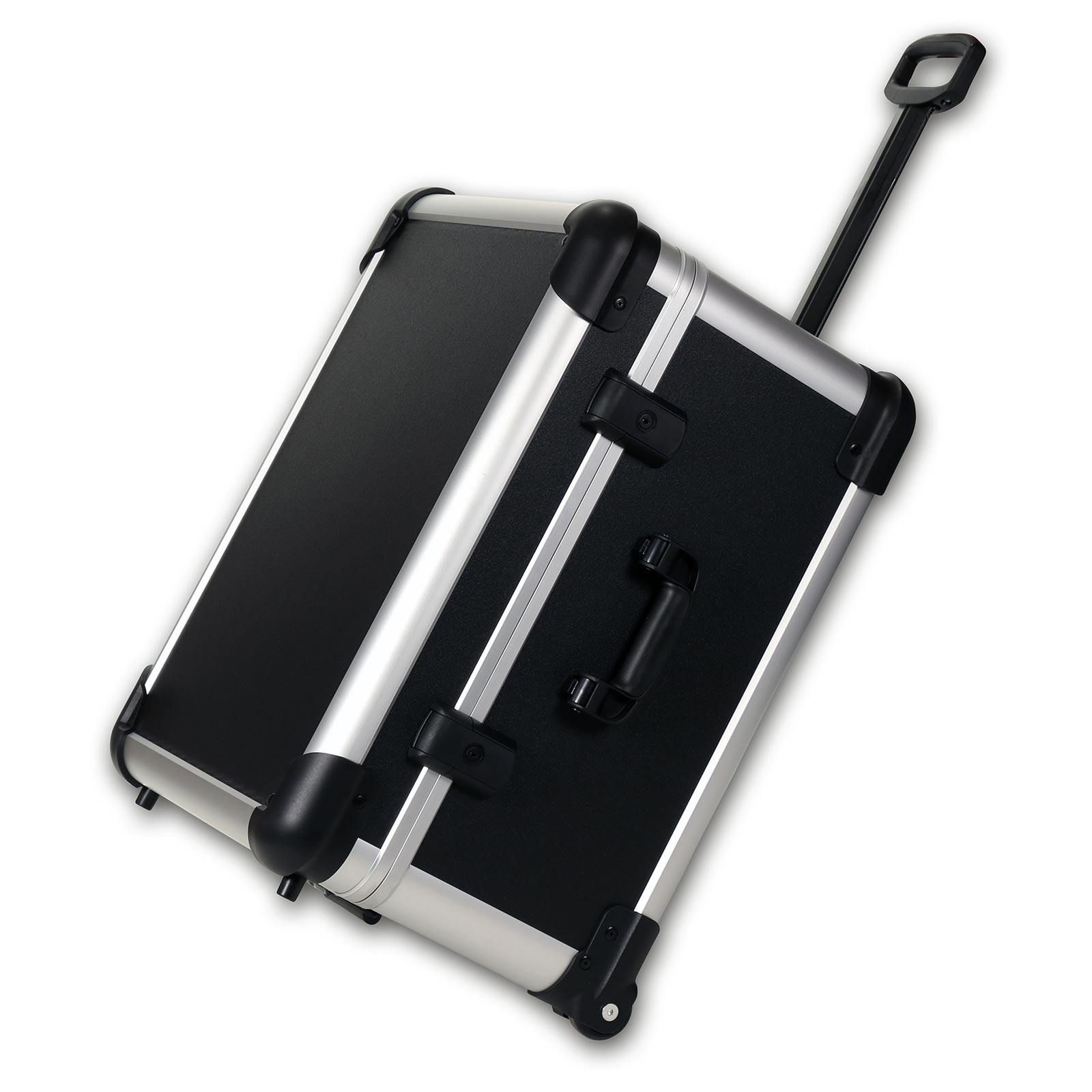 bwh Koffer CoolCase Transportkoffer M mit 4 Rollen - Schwarz 51200