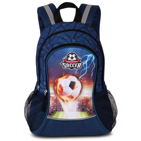 Fabrizio Kids Soccer Rucksack 35 cm marineblau