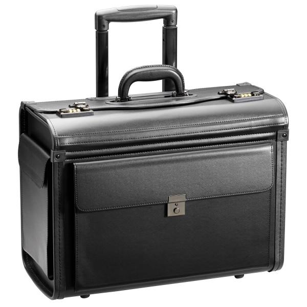 d&n Business & Travel Pilotenkoffer 48 cm 2 Rollen schwarz