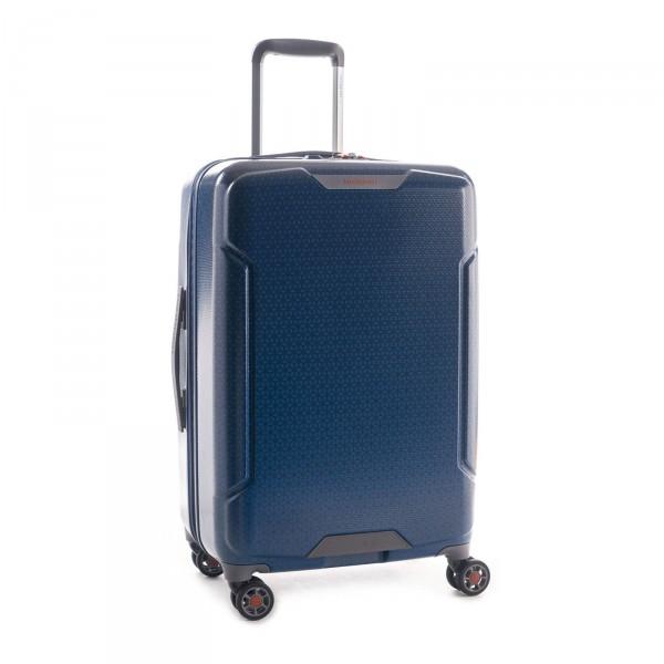Hedgren Freestyle Trolley 66 cm 4 Rollen erweiterbar blue opal Schrägansicht