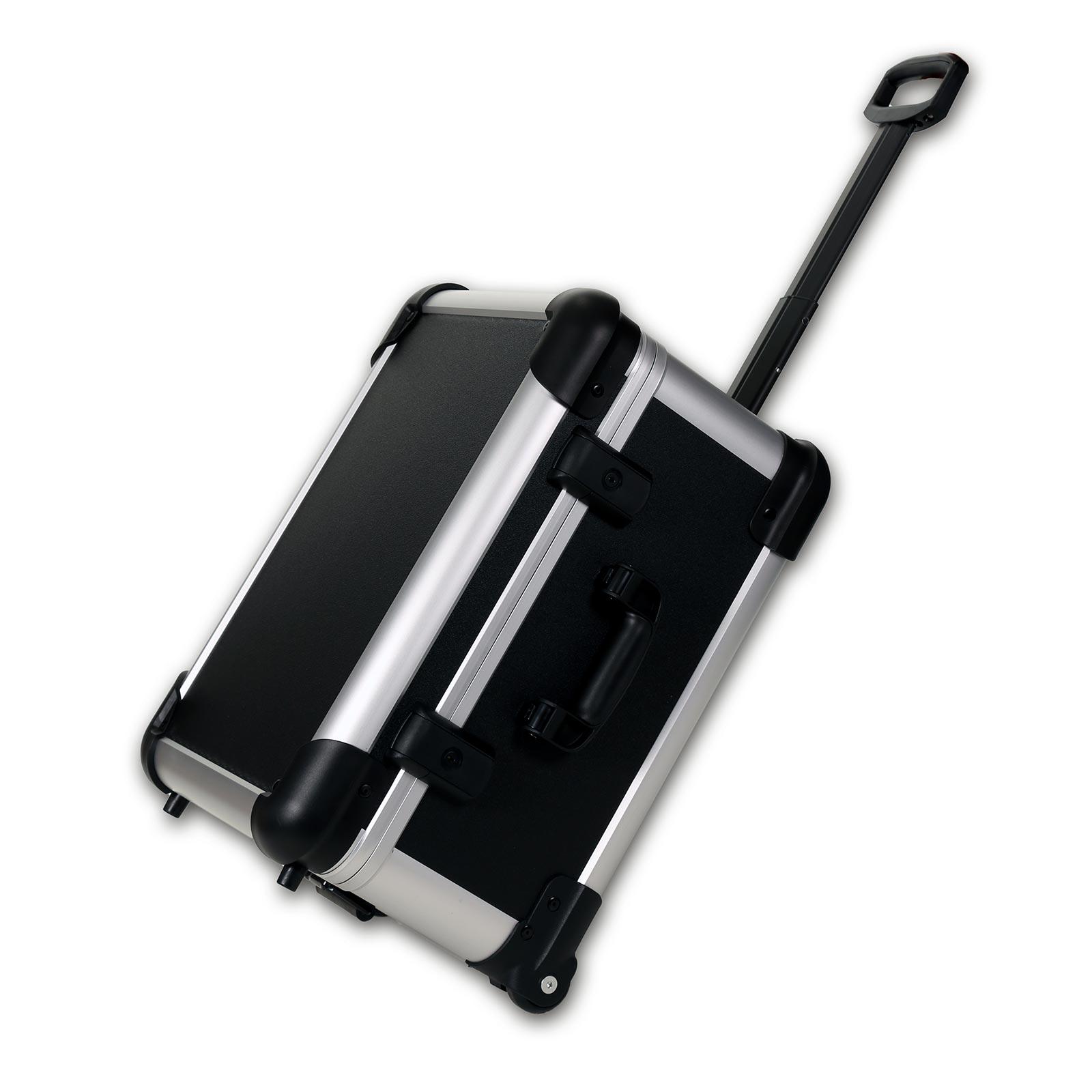 bwh Koffer CoolCase Transportkoffer S mit 4 Rollen - Schwarz 51100