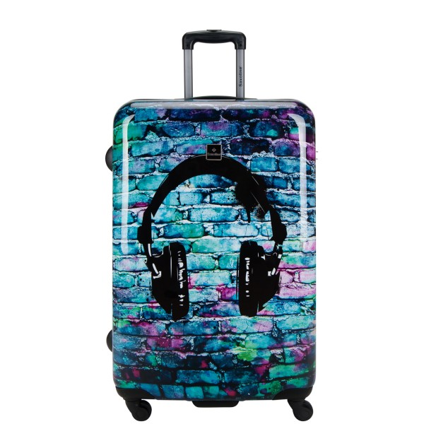 Saxoline Headphone Trolley 77 cm 4 Rollen Headphone Frontansicht