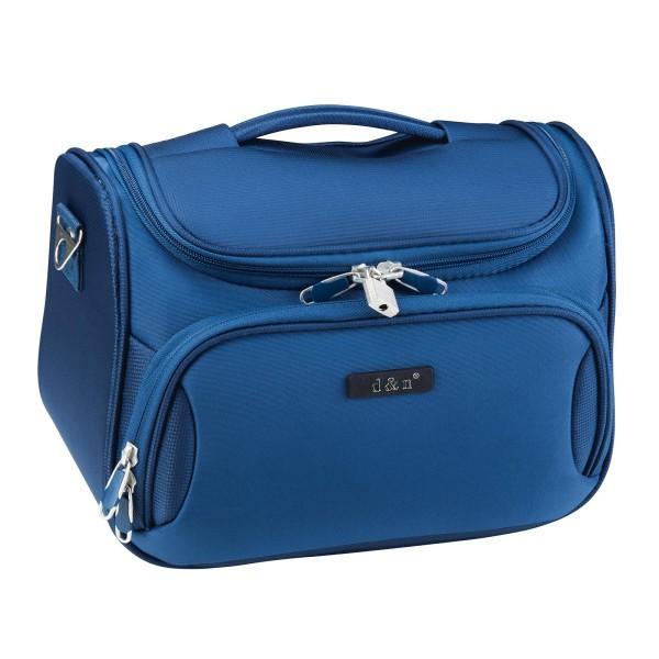 d&n Travel Line 6404 Beautycase 33 cm blau