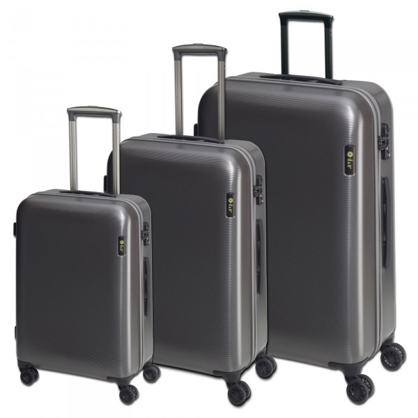 d&n Travel Line 8200 Kofferset grau