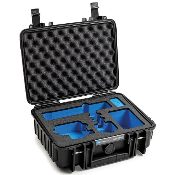 B&W GoPro Case Typ 1000 für GoPro Hero 9/10 mit Schaumstoffeinsatz