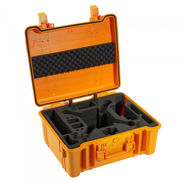 B&W Copter Case Typ 61 orange für DJI Phantom 2 Vision