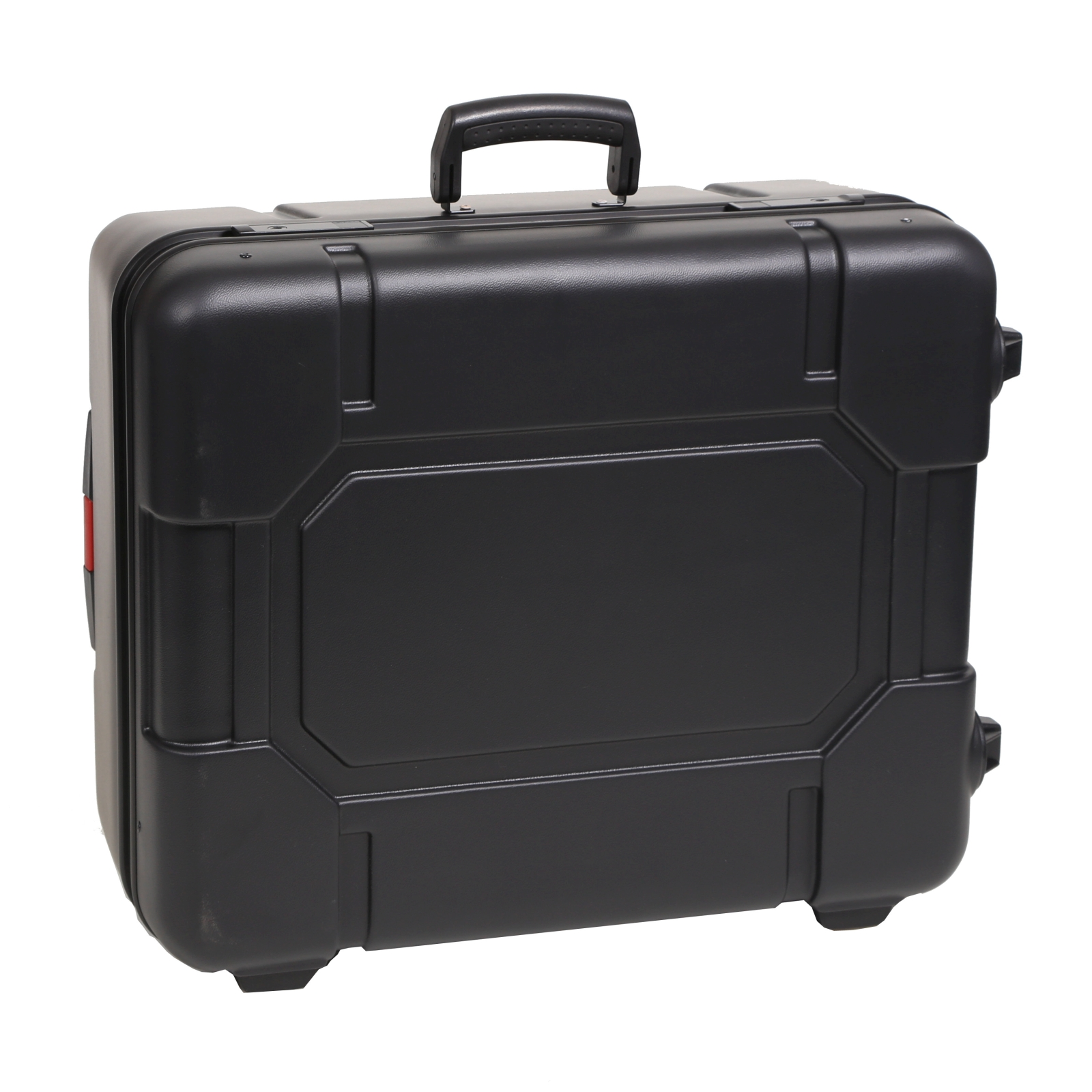 bwh koffer kunststoffkoffer typ rs3 schwarz 2 rollen g nstig kaufen koffermarkt. Black Bedroom Furniture Sets. Home Design Ideas