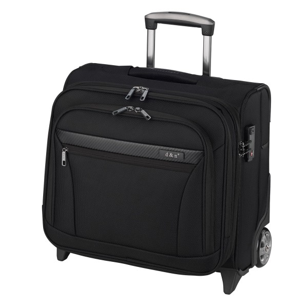 d&n Business & Travel 2891 Business-Trolley 41 cm 2 Rollen schwarz