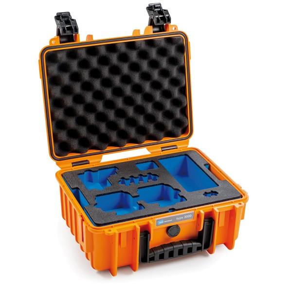 B&W GoPro Case Typ 3000 für GoPro Hero 8 orange