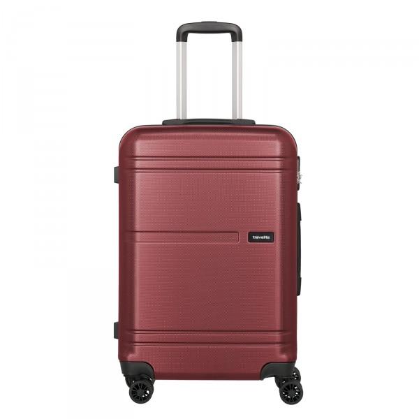 travelite Yamba Trolley 64 cm 4 Rollen erweiterbar rot