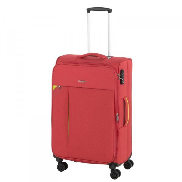 Hardware Revolution Trolley 69 cm 4 Rollen erweiterbar coral red