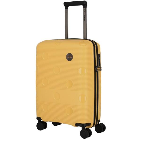 travelite Smarty Trolley 55 cm 4 Rollen gelb