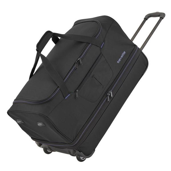 travelite Basics Trolley Reisetasche 55 cm 2 Rollen erweiterbar