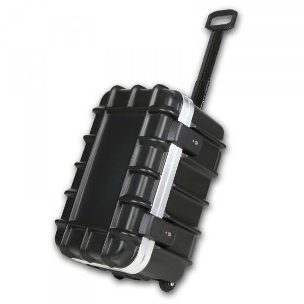 bwh Koffer T-Box Transportkoffer 56 cm 2 Rollen schwarz auf Rollen
