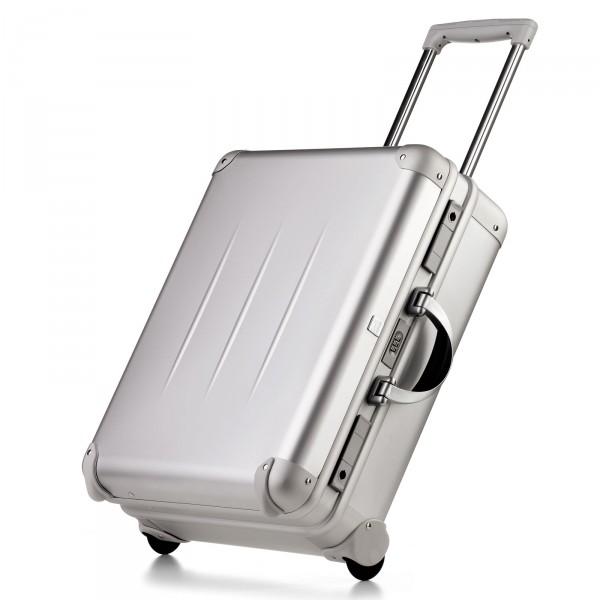 bwh Koffer ALUpur Trolley - Vorderseite