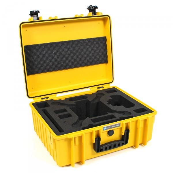 B&W Copter Case Typ 6000 schwarz für DJI Phantom 3 ProAdv