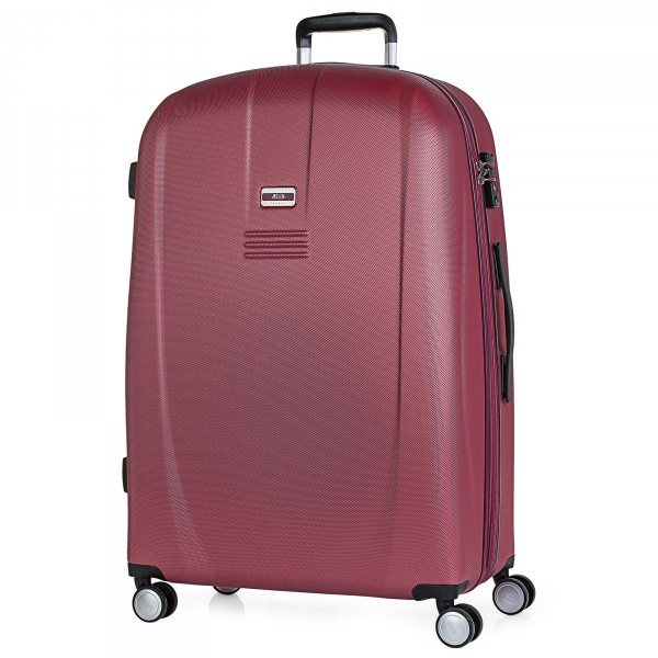 JASLEN Bucarest Trolley 77 cm 4 Rollen wine