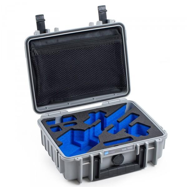 B&W Outdoor Case Typ 1000 für FEIYU G5 Grau Offen