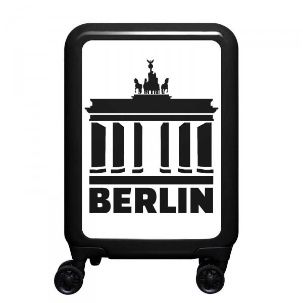 meinTrolley Berlin 55cm 4 Rollen schwarz
