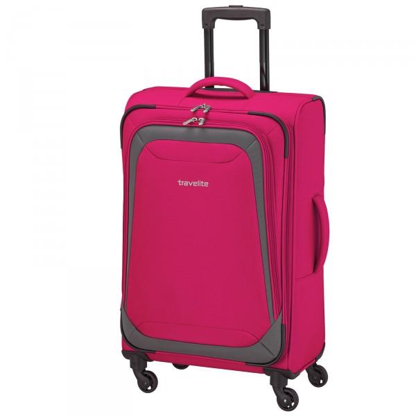 travelite Naxos Trolley 75 cm 4 Rollen pink