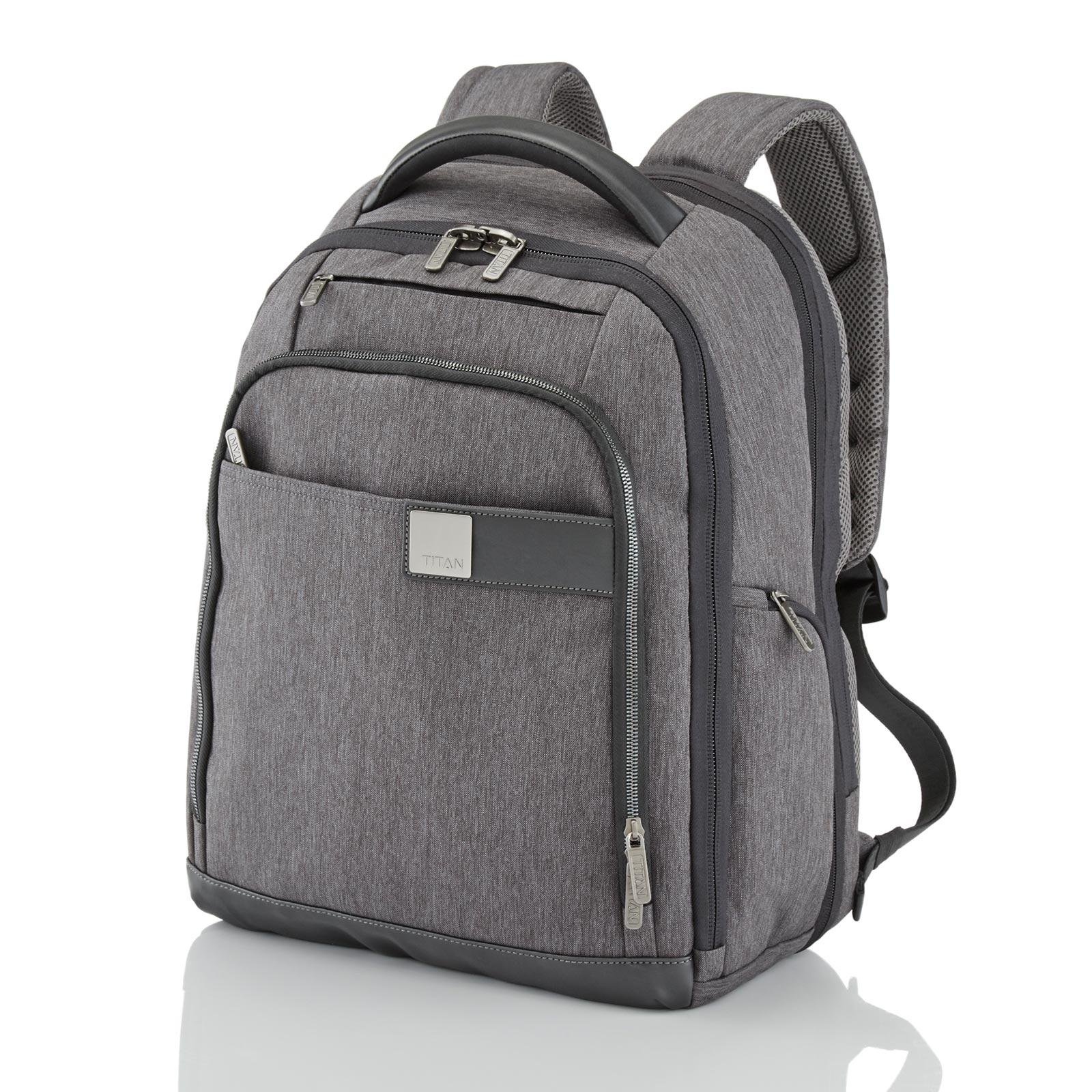 TITAN Power Pack Rucksack 35 cm erweiterbar 32 l - Grau 379501-04